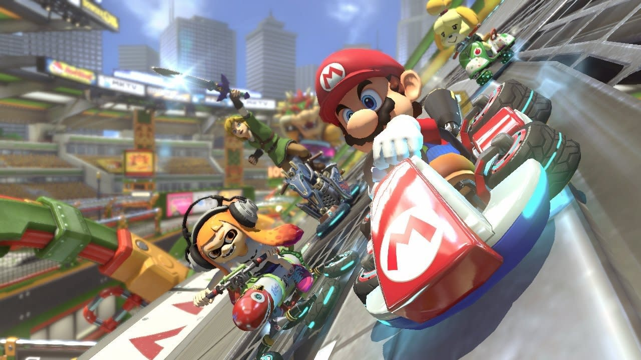 Mario Kart 8 Deluxe' on the Switch is basically perfect