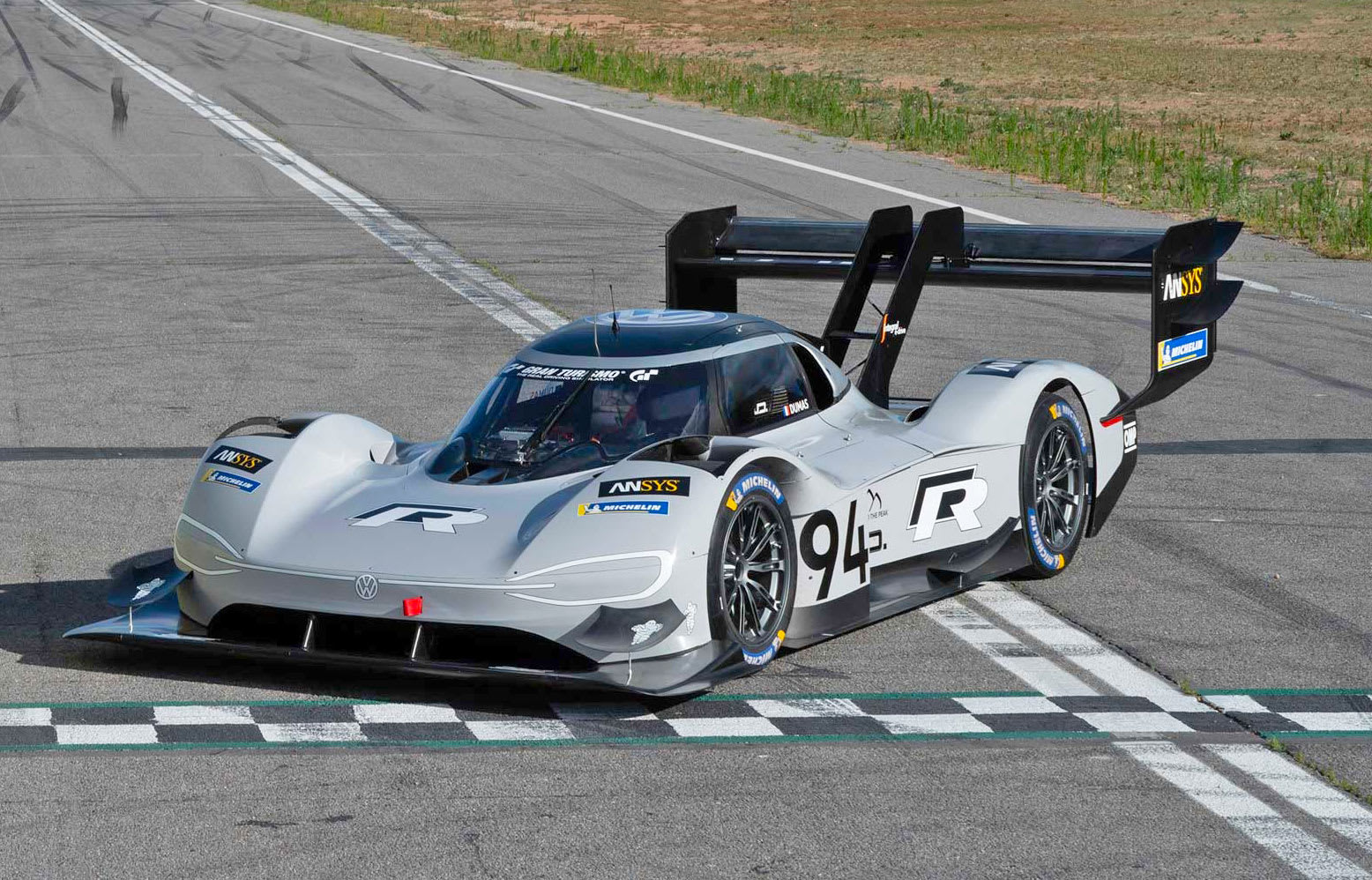 vw 39 s electric pikes peak racer is now the champion at goodwood too. Black Bedroom Furniture Sets. Home Design Ideas