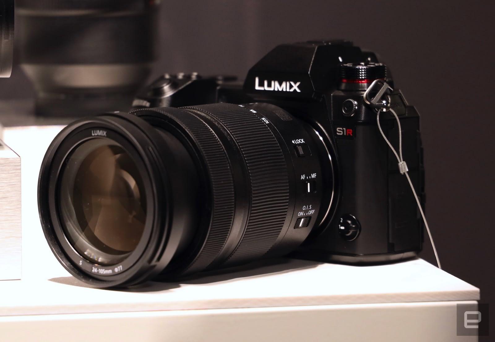 Panasonic Announces Two Full Frame L Mount Mirrorless Cameras