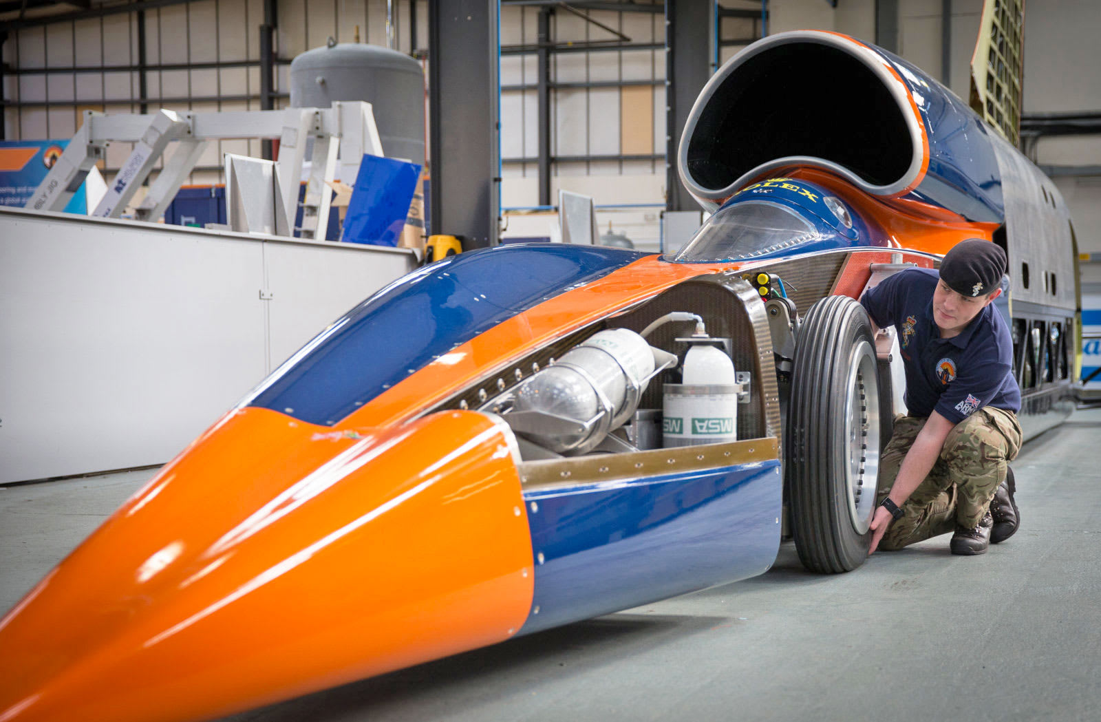 Land Speed Record >> Bloodhound S Land Speed Record Attempt Set For October 2017