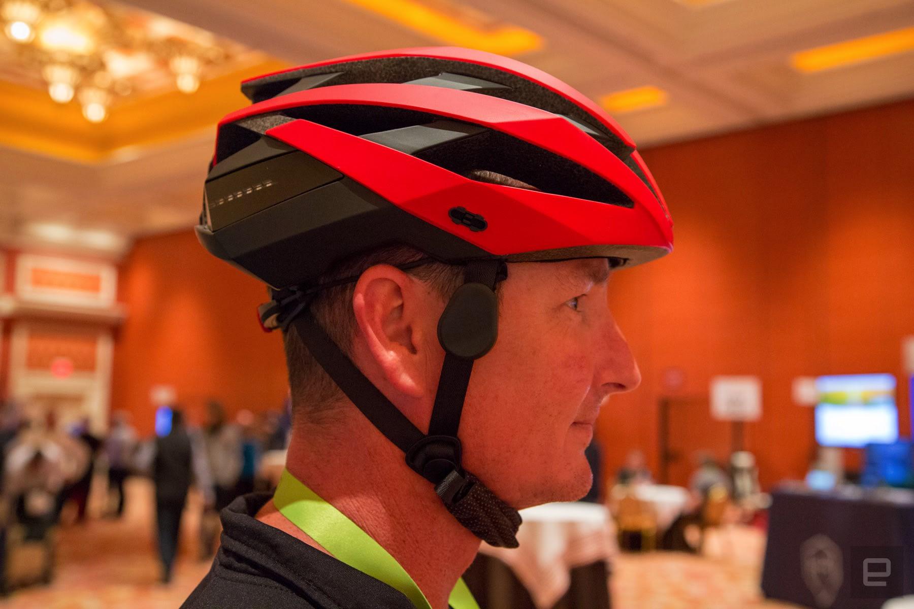 46442e5c812 Coros smart bike helmet comes with bone-conduction audio