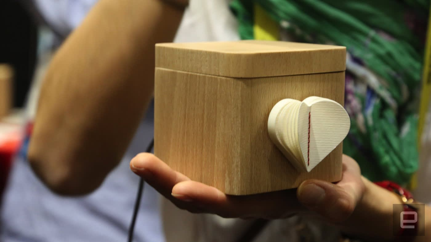 Send your love around the world in this box