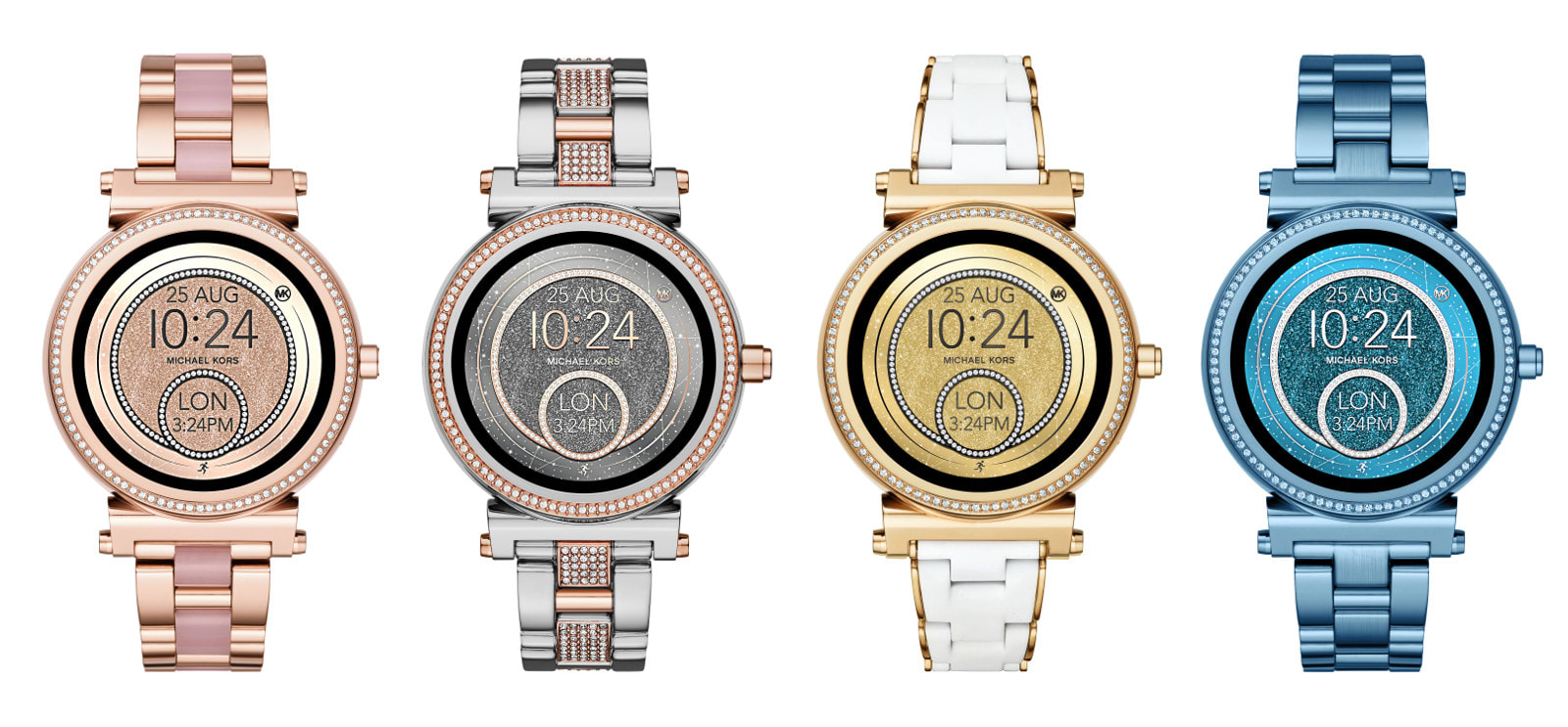 4cc1414ae3e1 Michael Kors offers Android Wear smartwatches in more colors