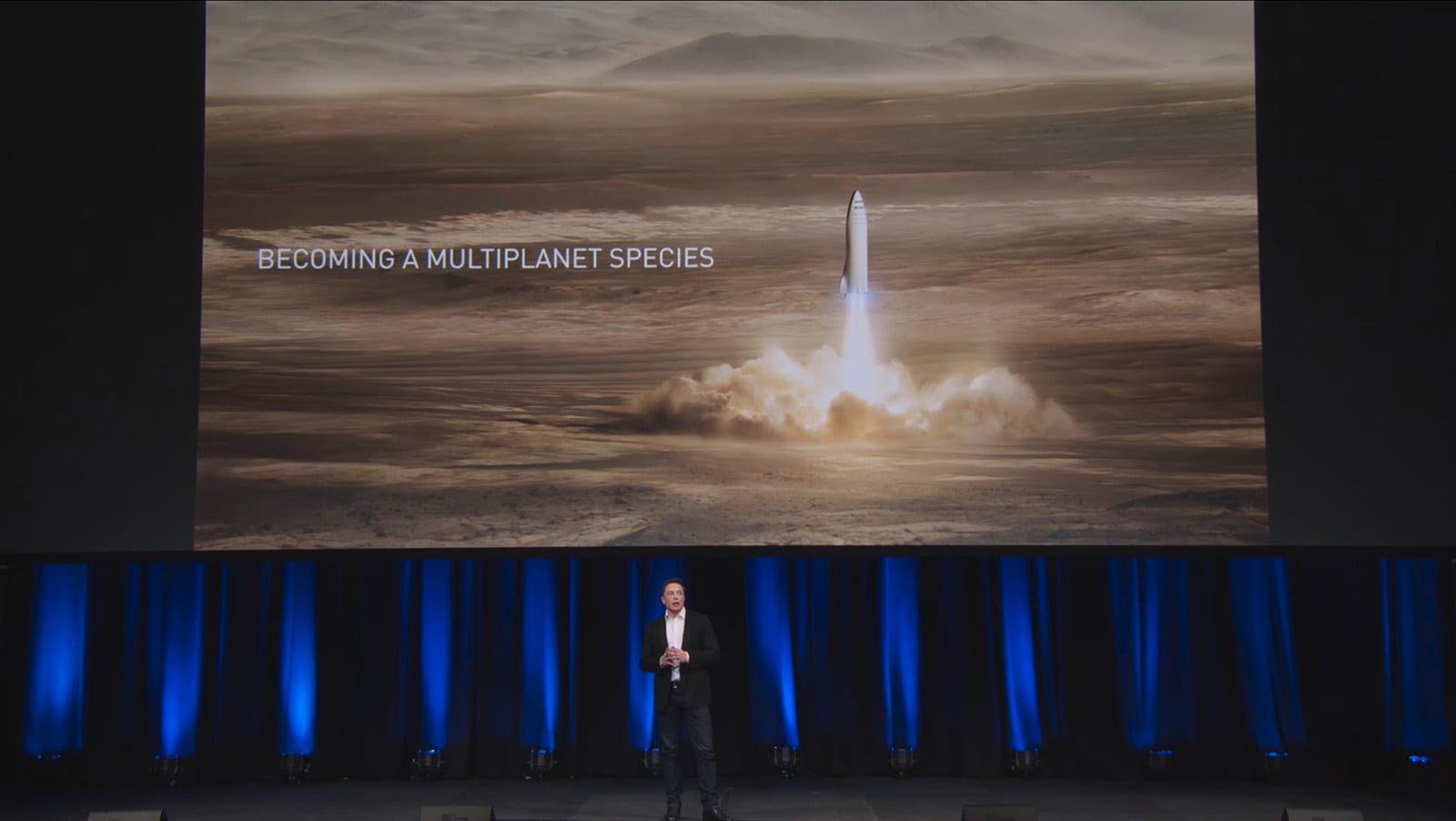 Elon Musks Mars Dream Hinges On A Giant New Rocket