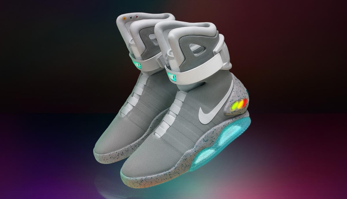 e7a148df8f2a Nike s  Back to the Future  shoes can be yours in a raffle