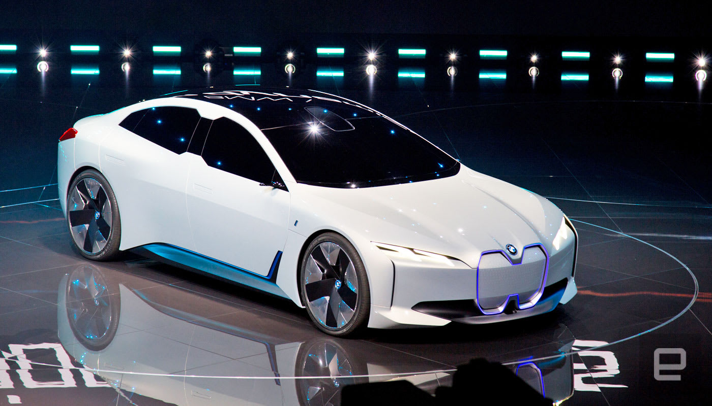 Bmw Unveils The Zippy I Vision Dynamics Electric Concept Car