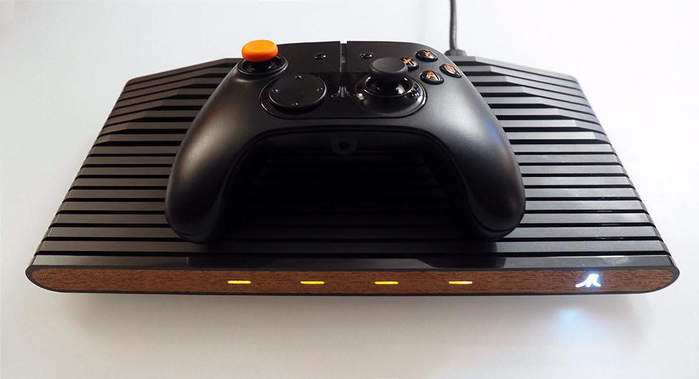 New Atari Console 2020 Atari shows its non functional 'VCS' console prototype at GDC 2018
