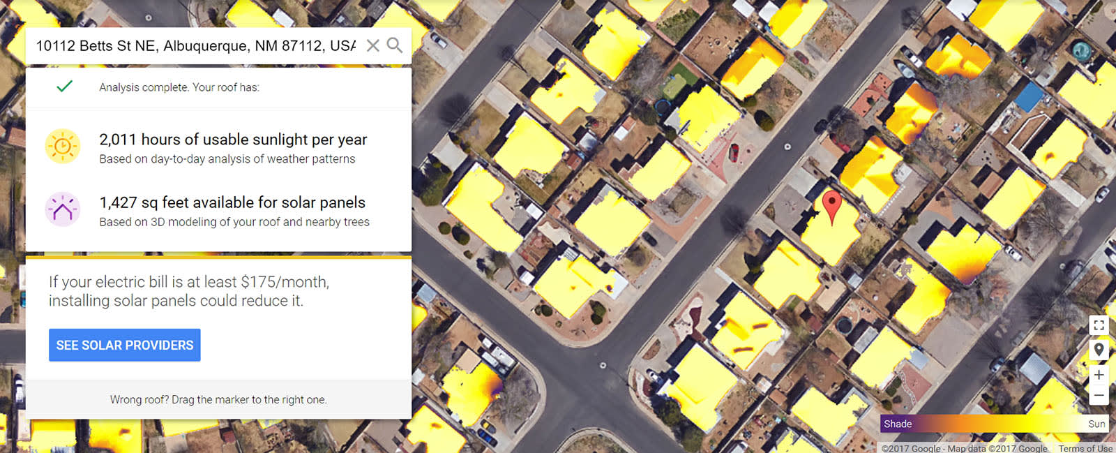 Google Solar Roof >> Google 4 Out Of 5 Us Homes Have Solar Power Potential