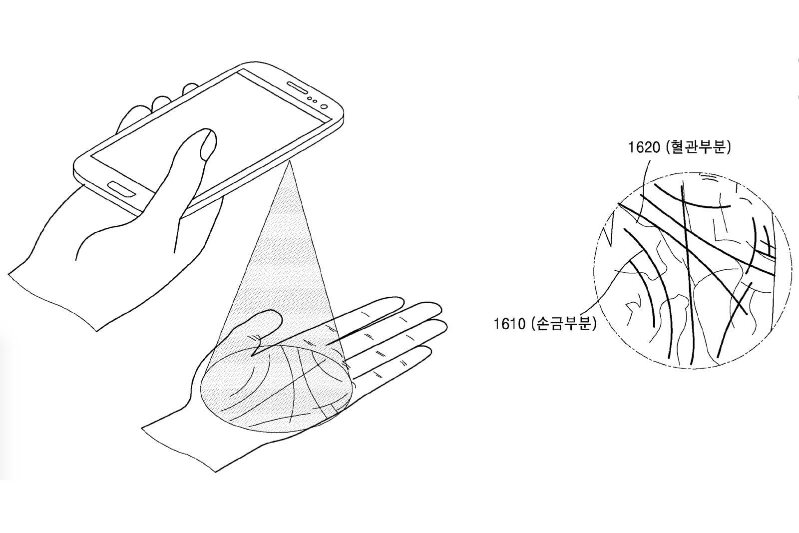 Samsung envisions phones that read your palm