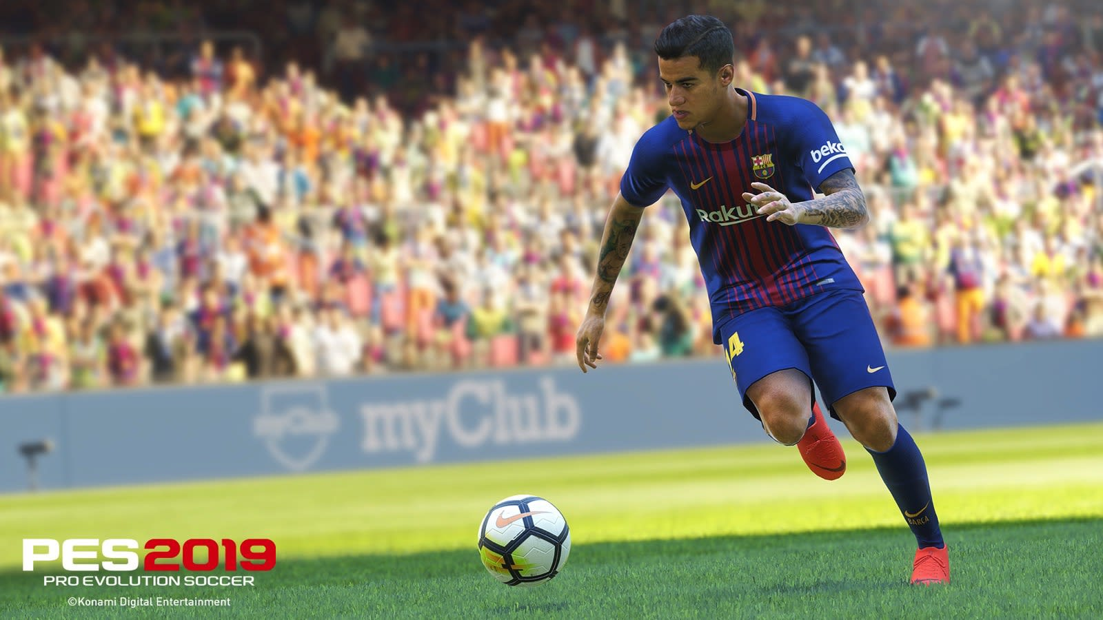 PES 2019: Three generations of pro players battle it out at