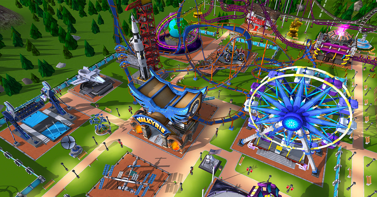 RollerCoaster Tycoon' finally goes 3D on mobile