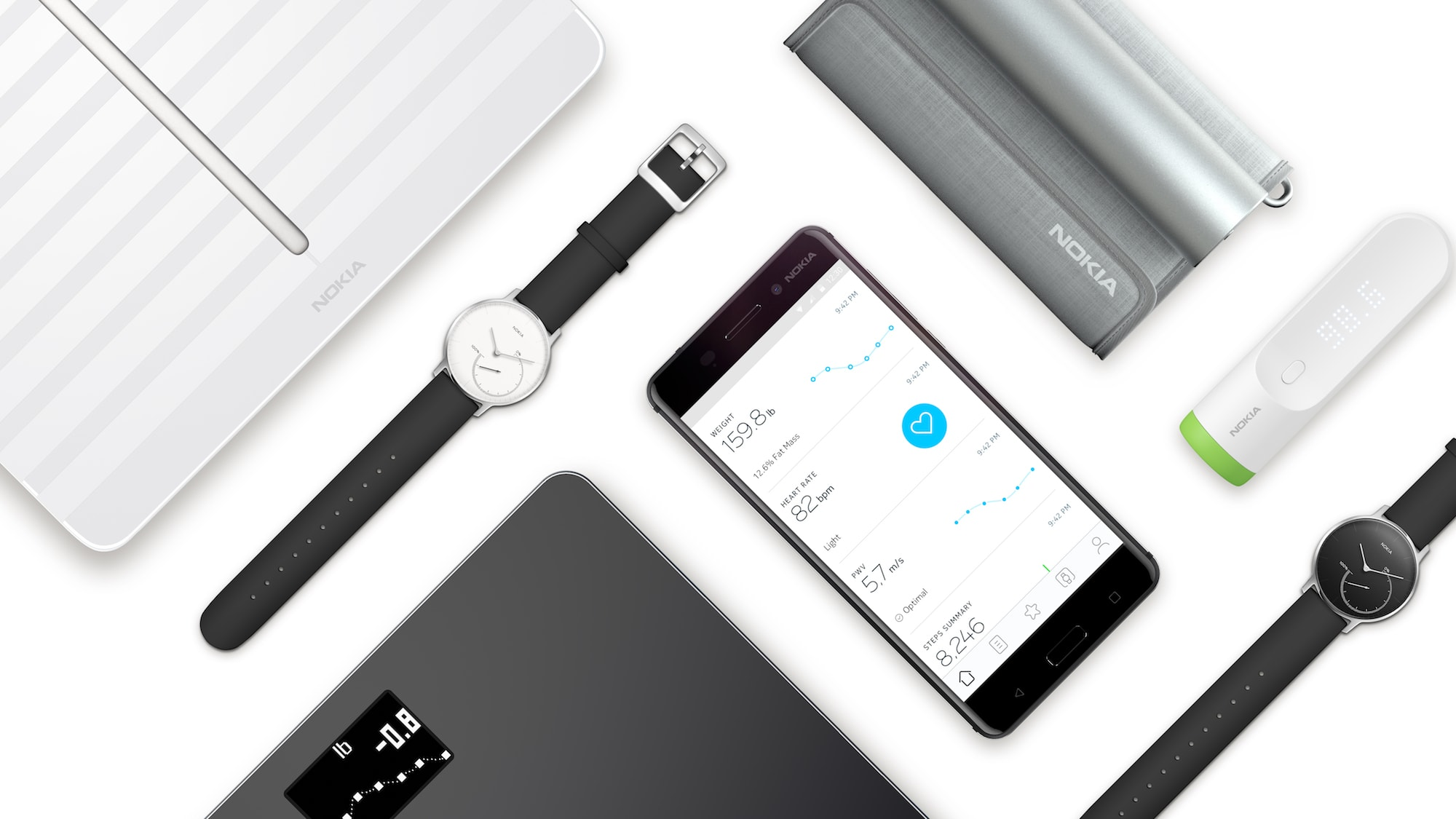 Nokia launches new digital health products as Withings name fades