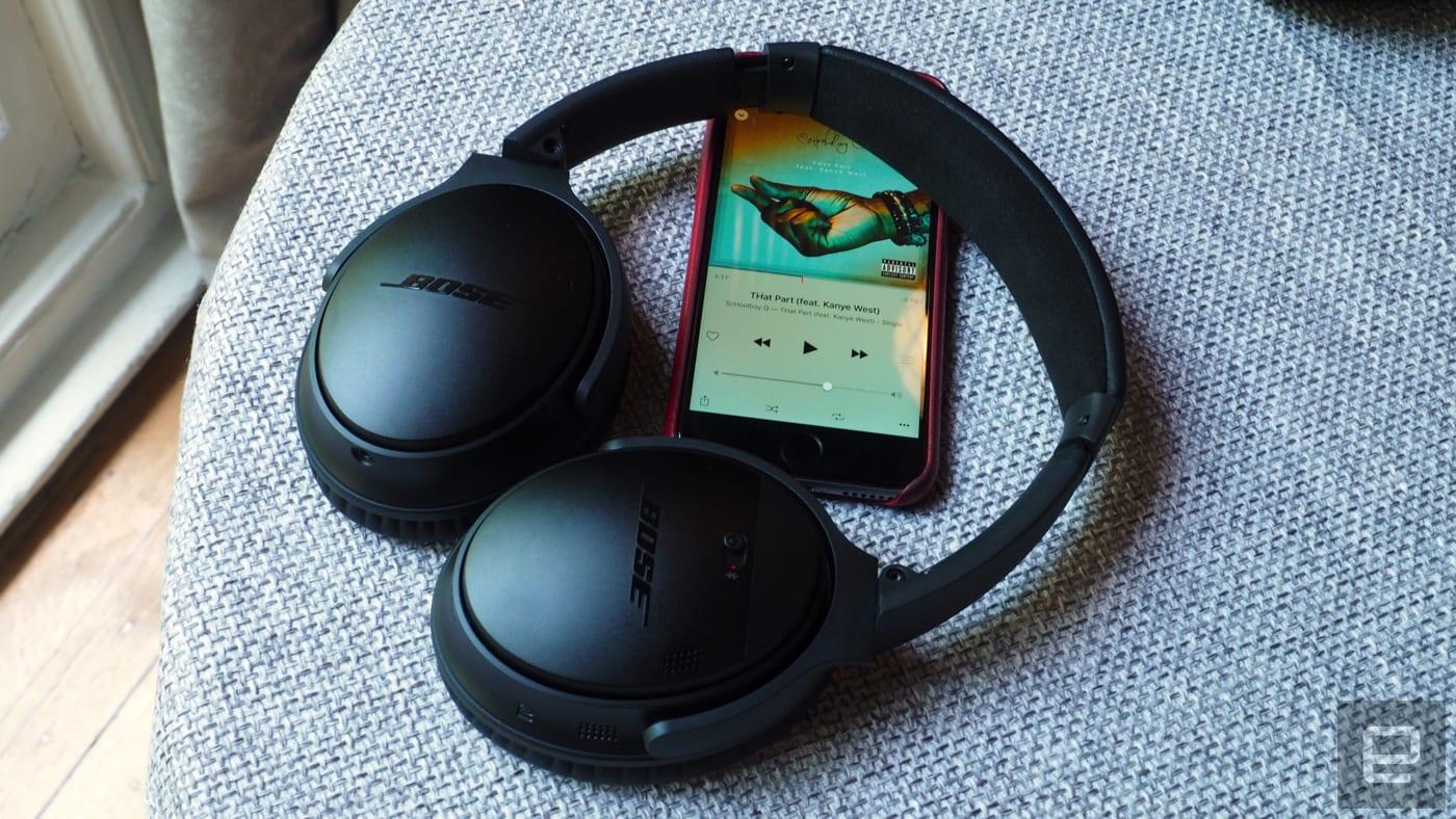 d575c23e862 Bose goes wireless with the QuietComfort 35 headphones