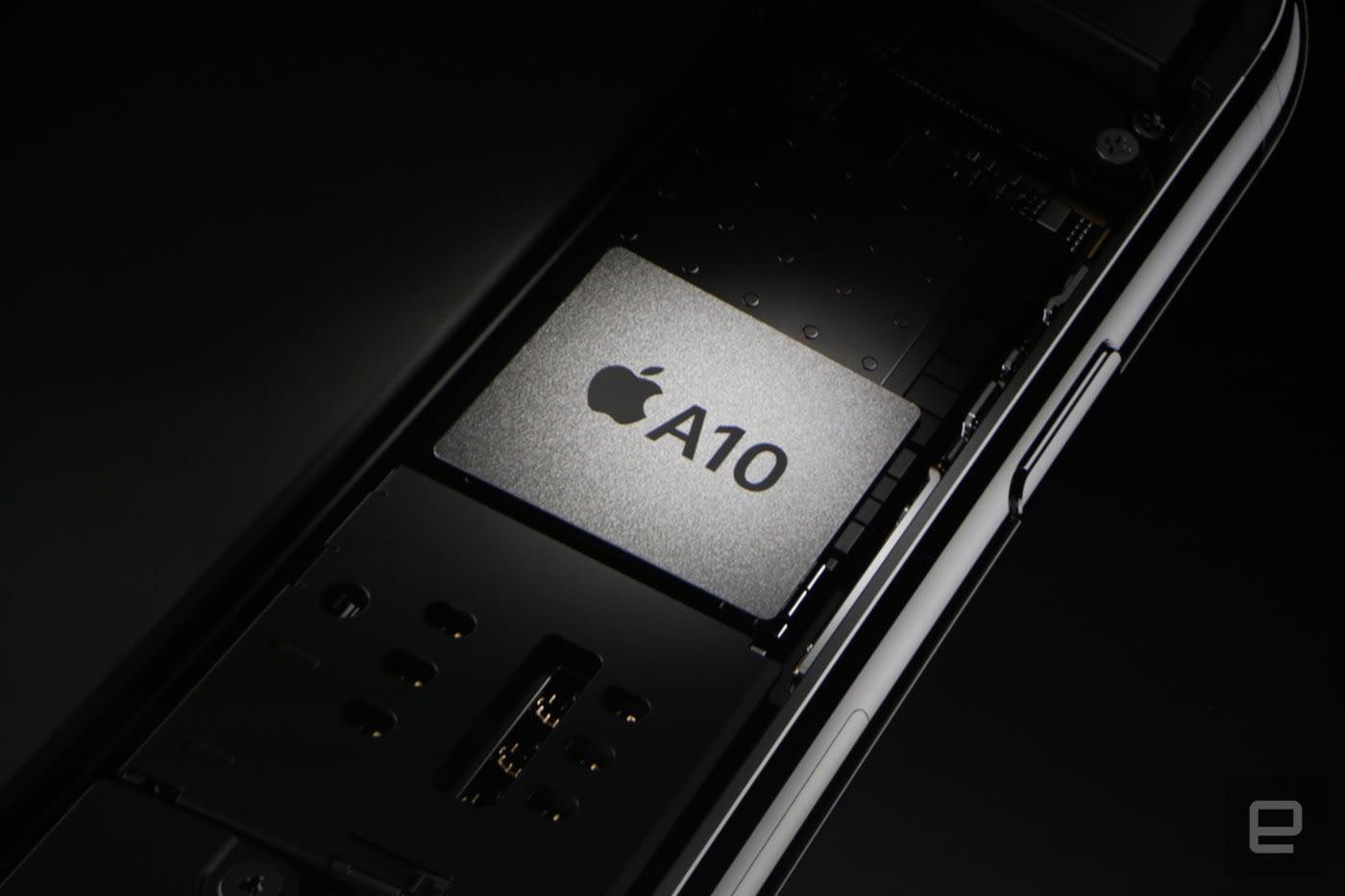Apple Unveils Its Quad Core A10 Fusion Chip
