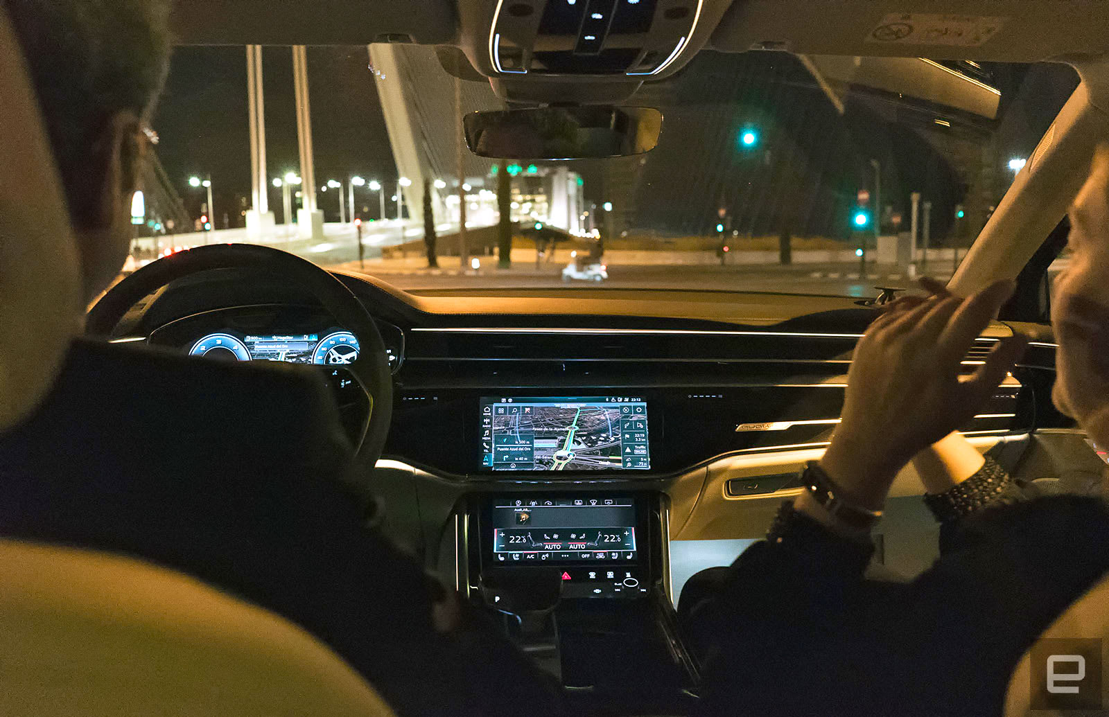 Audi's flagship A8 has an overwhelming amount of tech