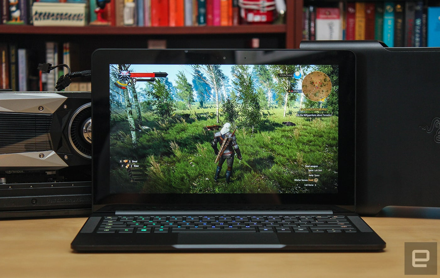 Razer's Blade Stealth and 'Core' add up to the gaming laptop