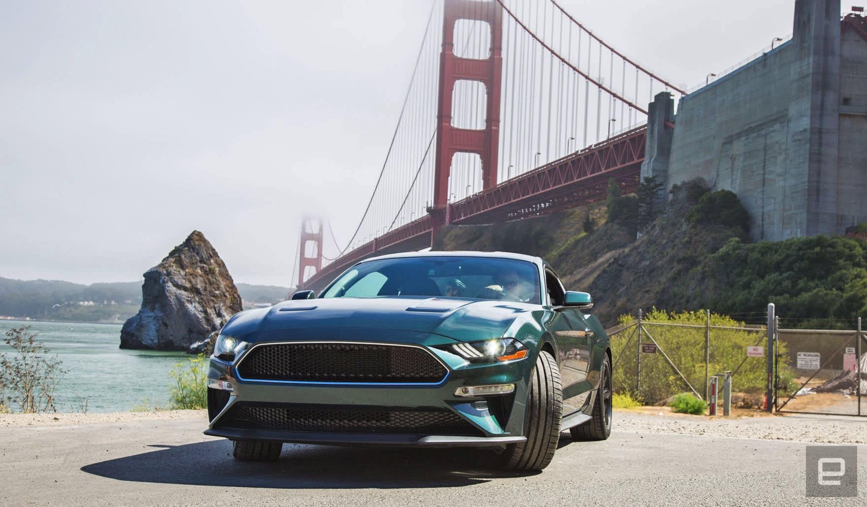 Ford mustang bullitt review almost steve mcqueen cool