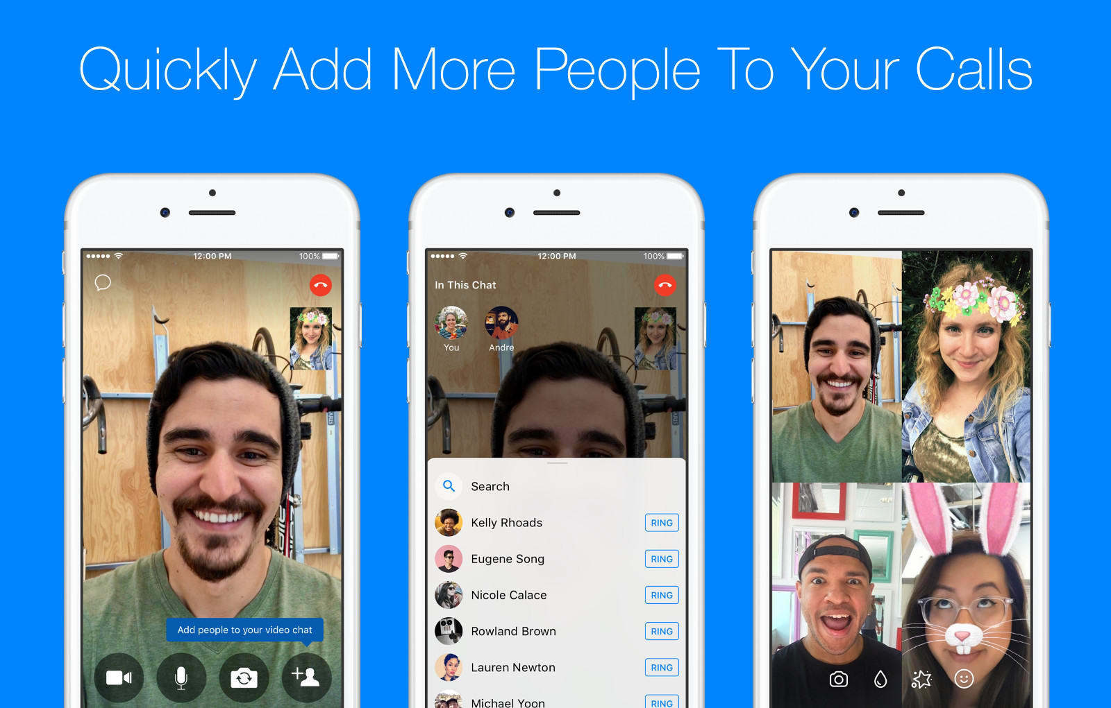 Facebook Messenger Adds An Easy Way To Start Group Calls 3 Switch Add Light