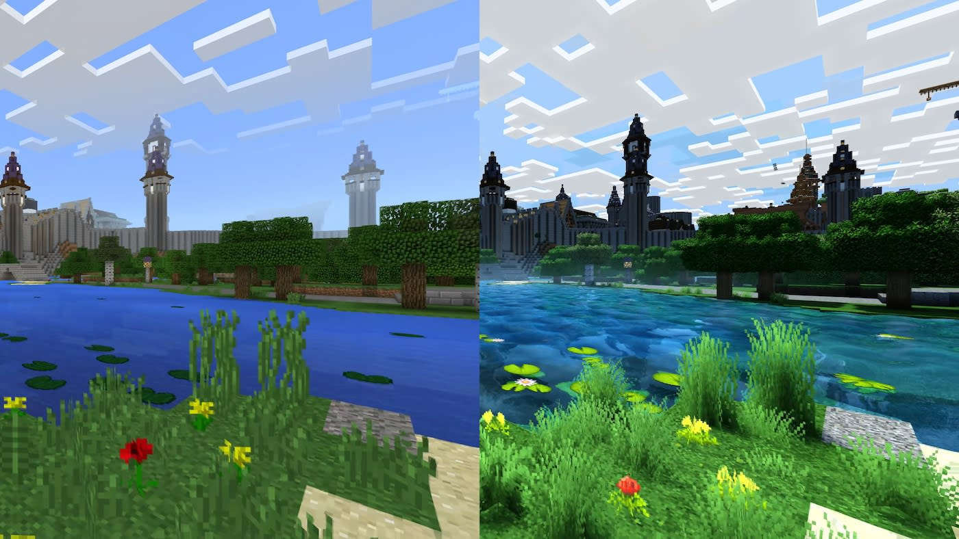 difference minecraft java and windows 10