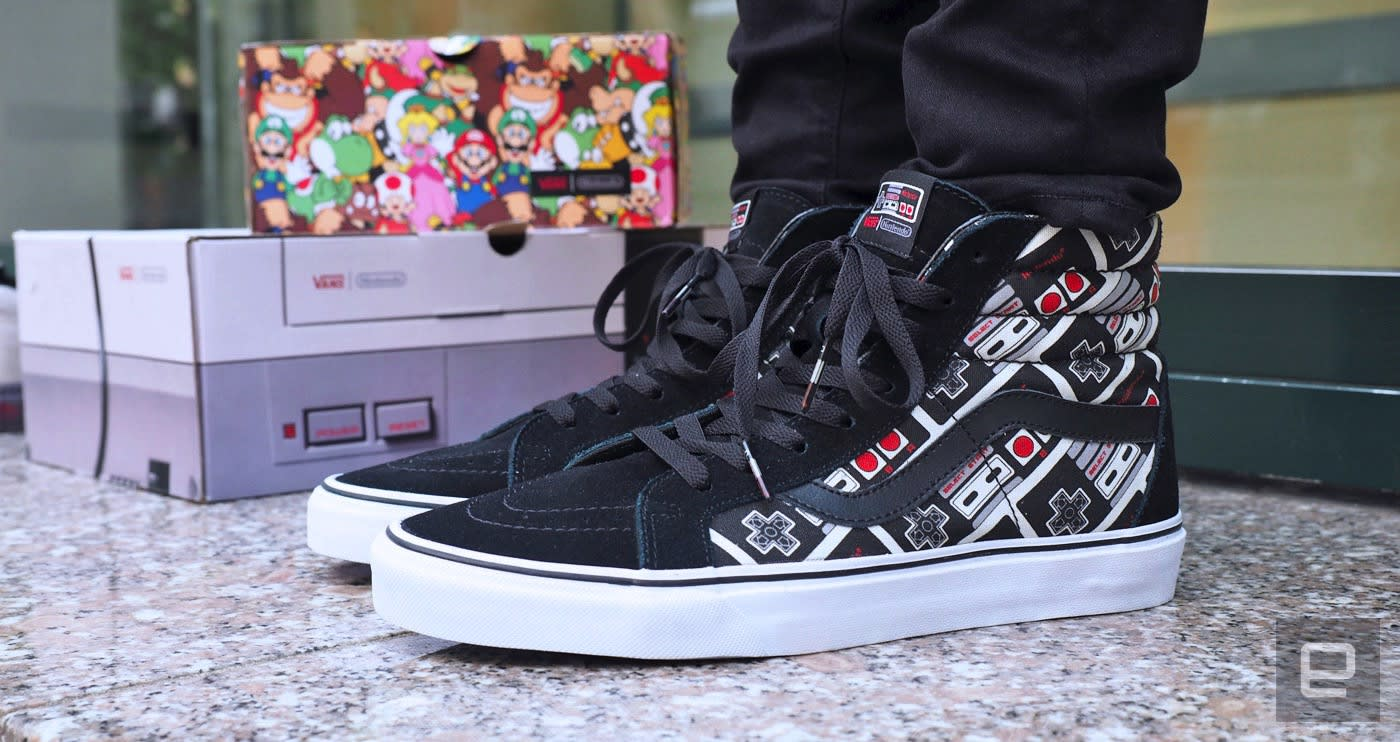 4e0b042b95 Special edition Nintendo Vans prove your inner nerd never died