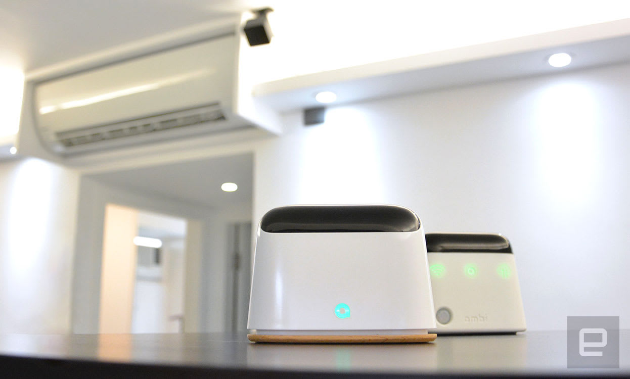 Alexa can control your dumb AC unit using Ambi's smart hub