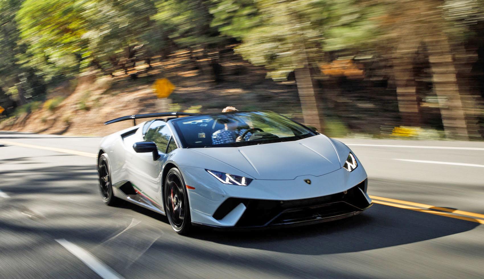 Lamborghini S High Performance Spyder Turns Physics Into Fun