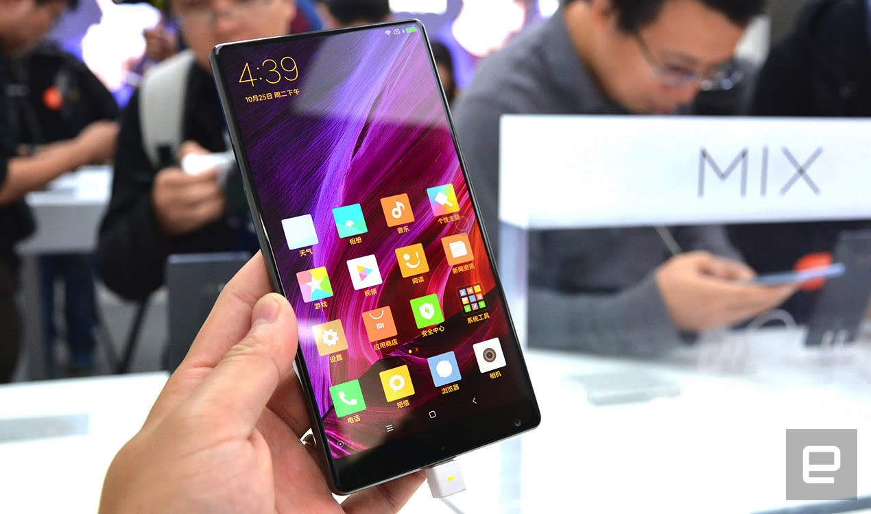 0a9e5d4e4 Xiaomi s Mi MIX is all about its gorgeous edge-to-edge display
