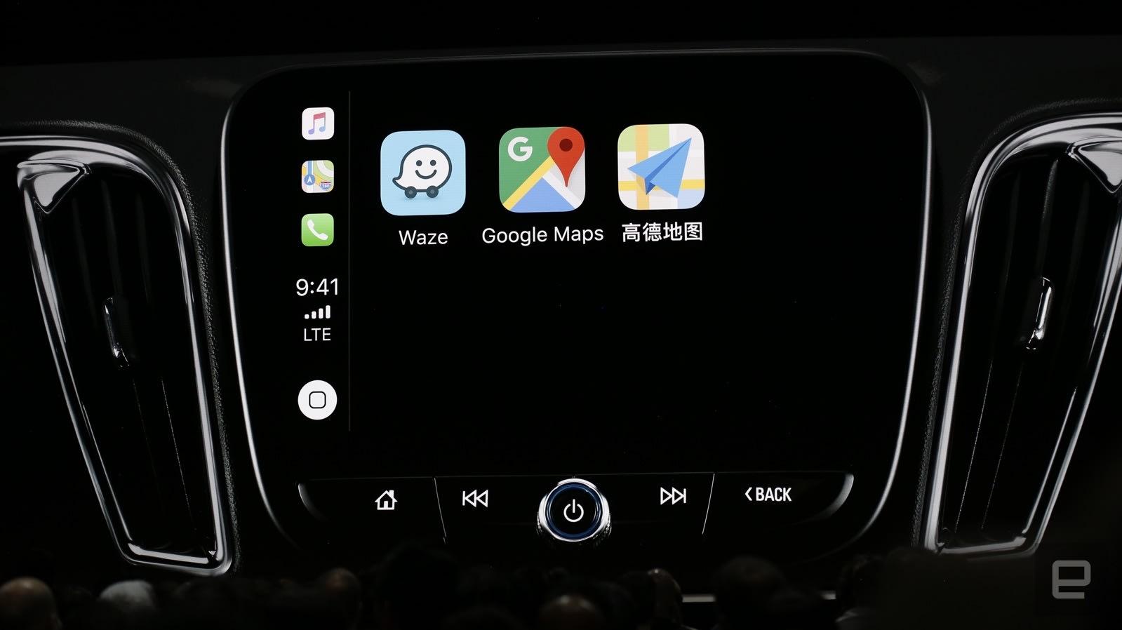 carplay google maps
