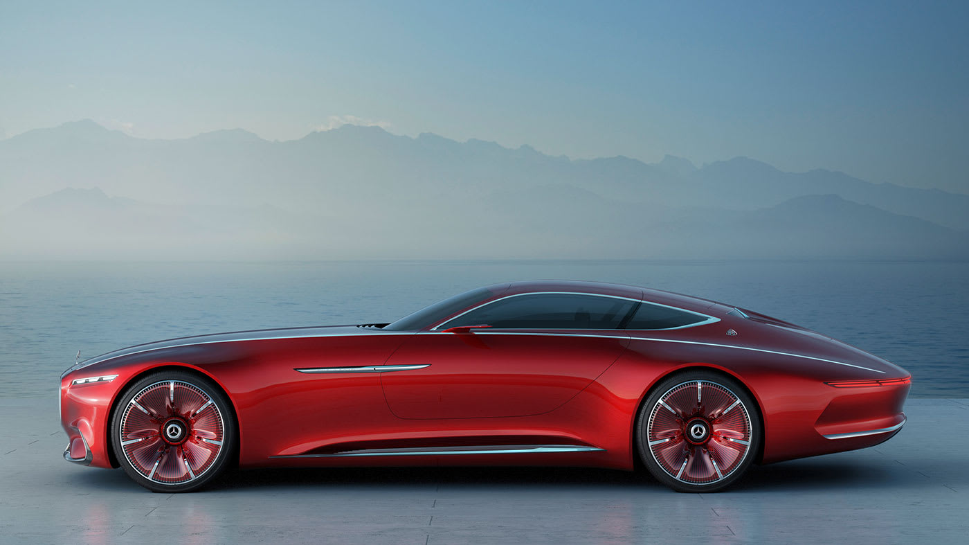 Mercedes Maybach Concept Is A Look At The Future Of Luxury Cars