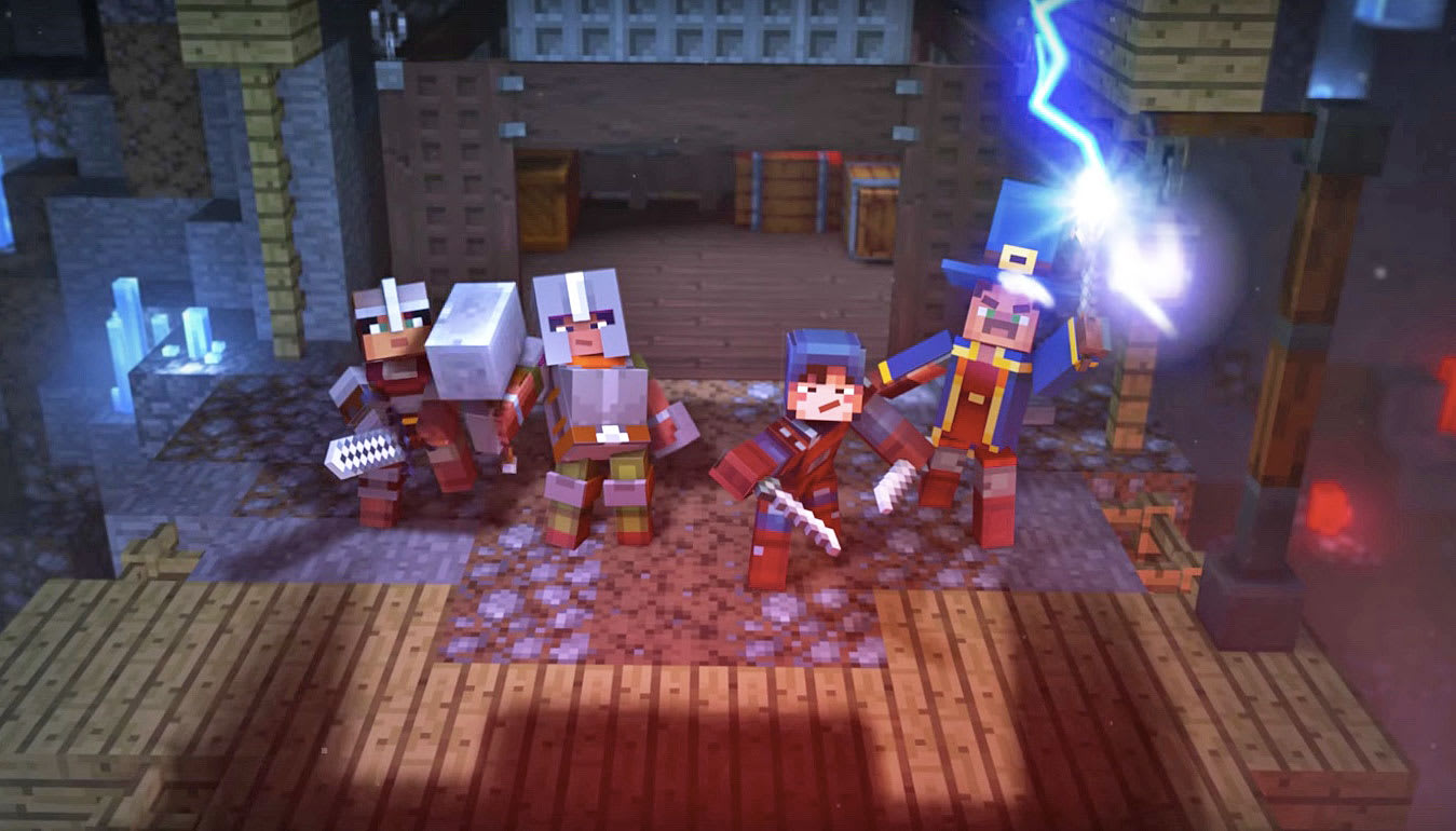 Meet 'Minecraft: Dungeons,' an adventure game with online co-op