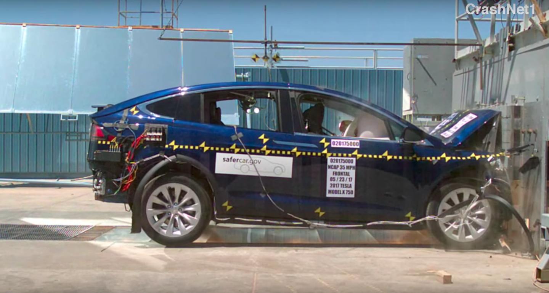Tesla Model X Earns A Perfect Nhtsa Safety Rating