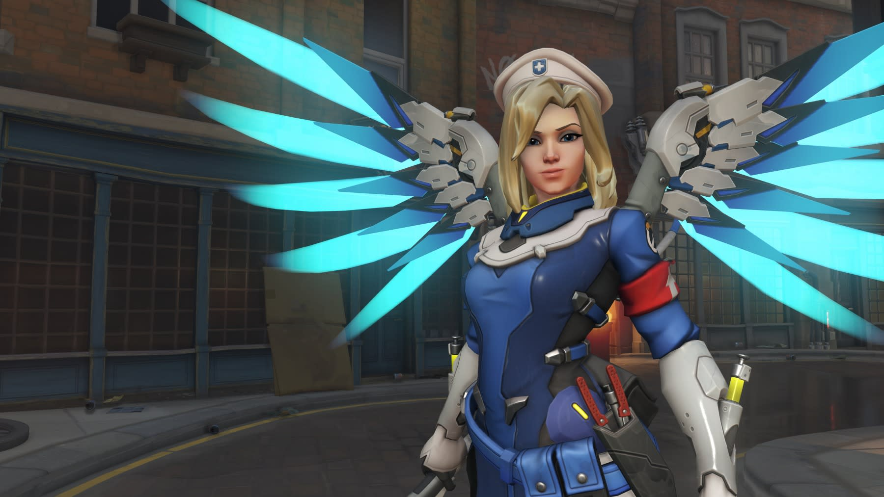 Overwatch' update downgrades Mercy, adds 4K on Xbox One X