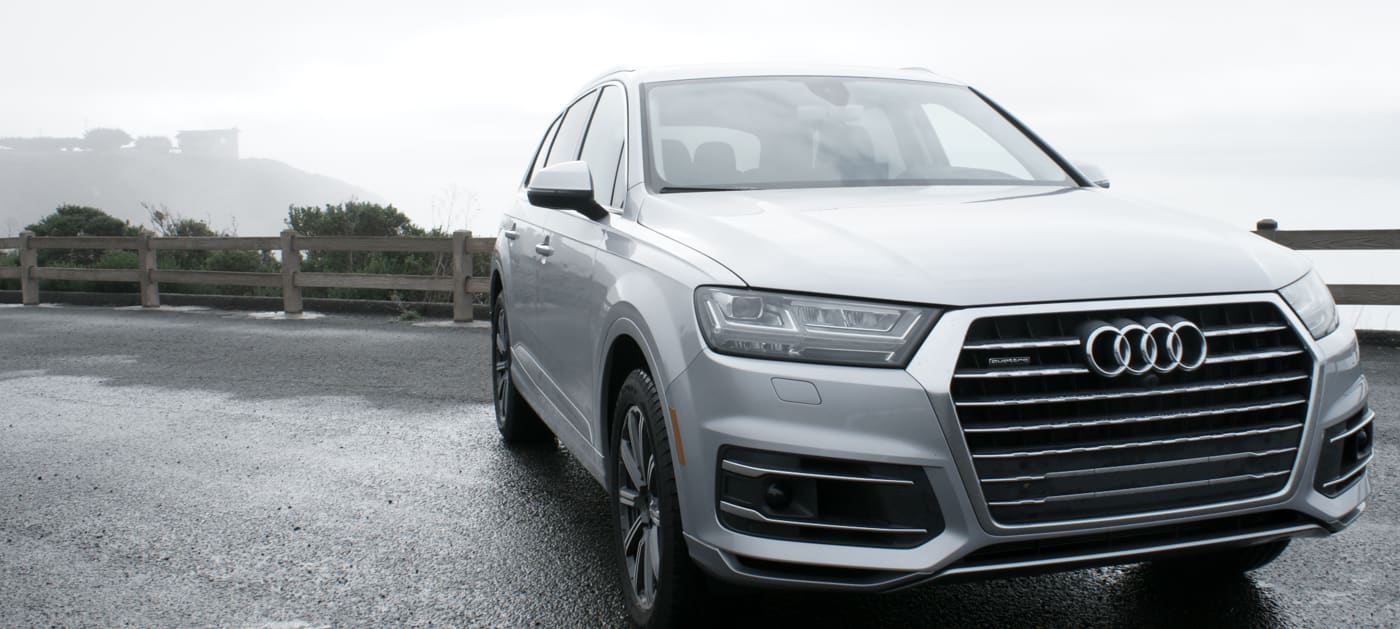 Audi's Q7 SUV tries to make you a better driver