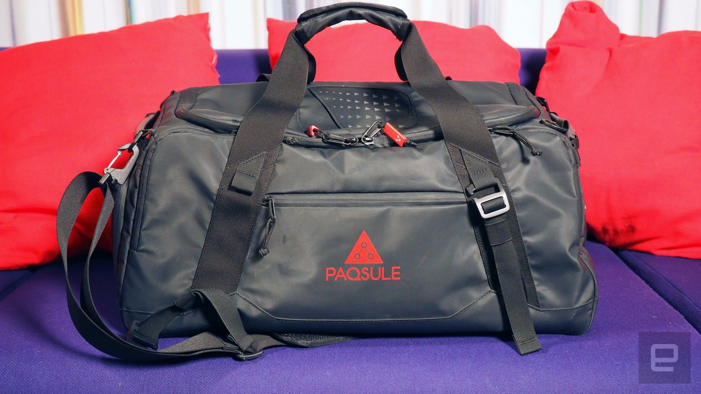 8174b9867c This self-cleaning bag freshens up your smelly gym clothes