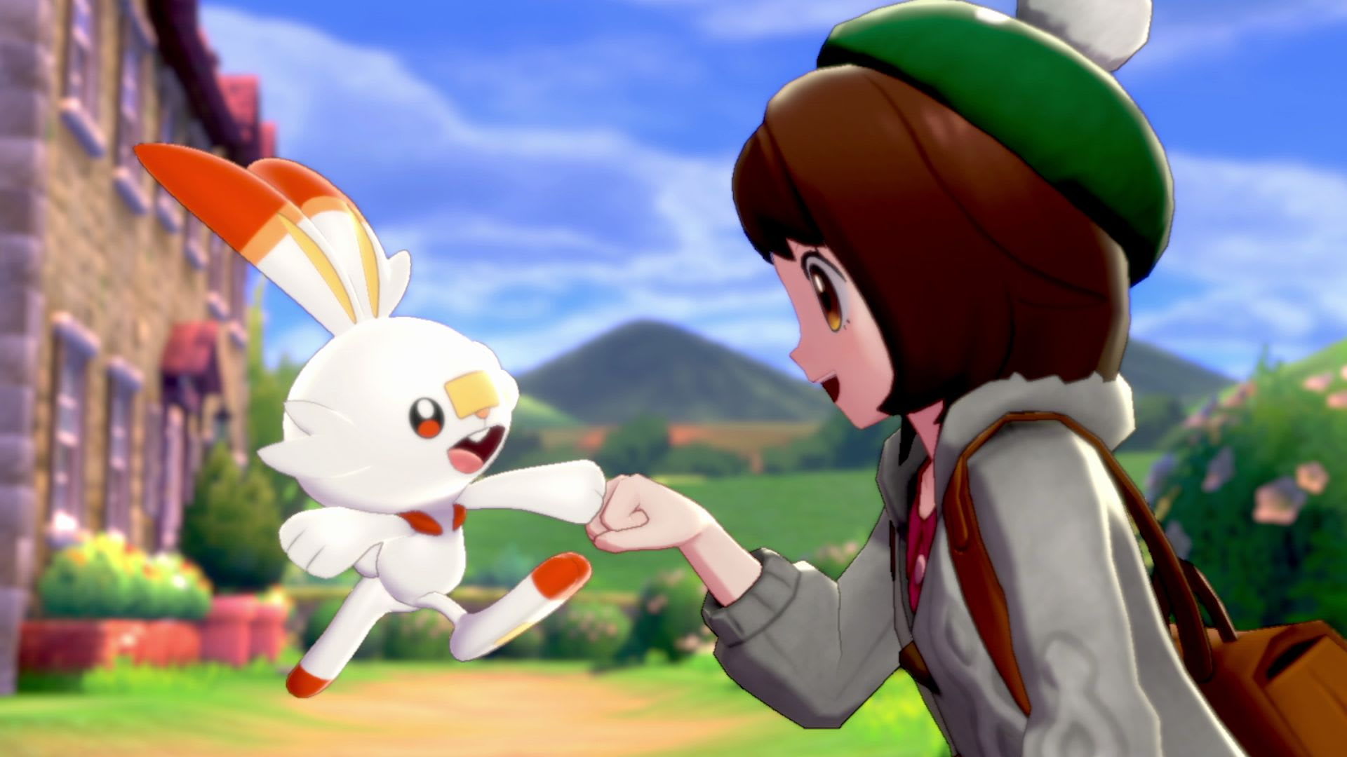 Dynamaxing a corgi in 'Pokémon Sword' and 'Shield'