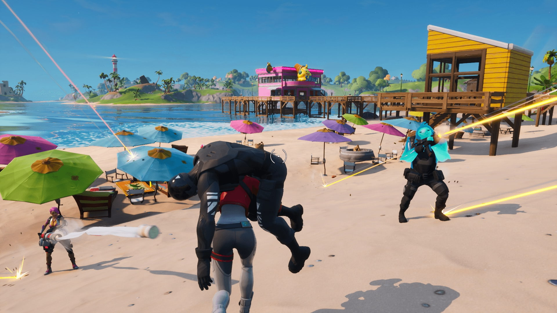 Fortnite Chapter 2 Is Here New Map Boats And Less Grind