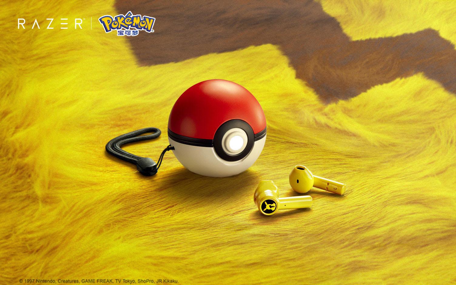 Razer ra mắt tai nghe Pokémon Pikachu True Wireless với phiên bản hộp sạc  Pokeball