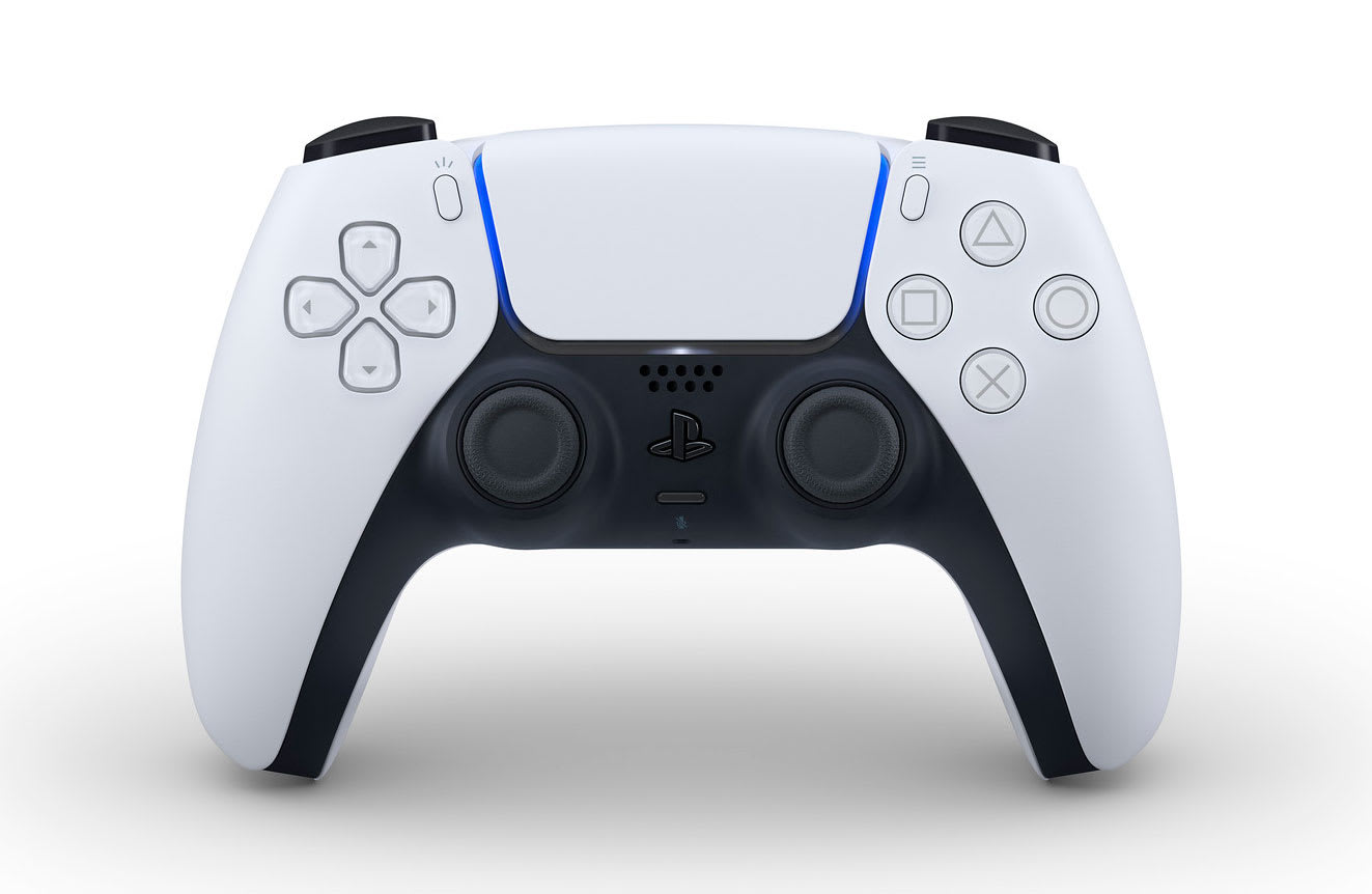 Sony's PS5 DualSense controller has a built-in mic and adaptive ...