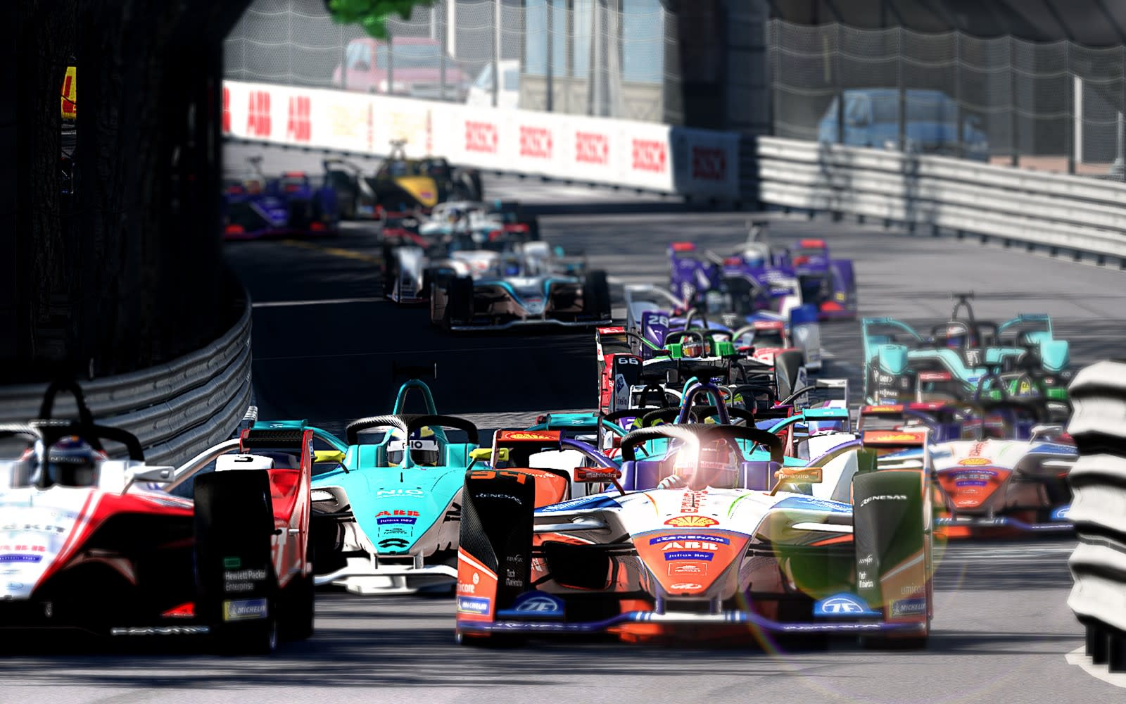 Formula E drivers will compete in streamed 'rFactor 2' races ...