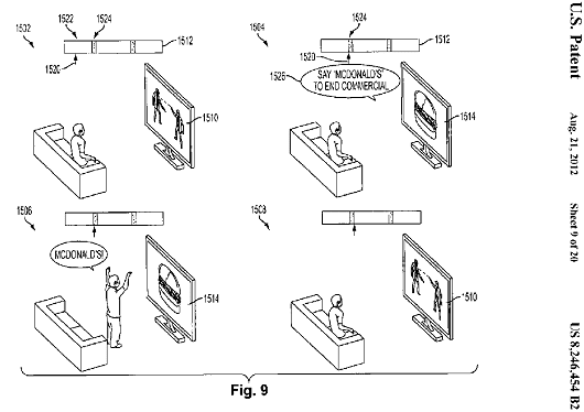 Sony patents method of turning TV ads into interactive