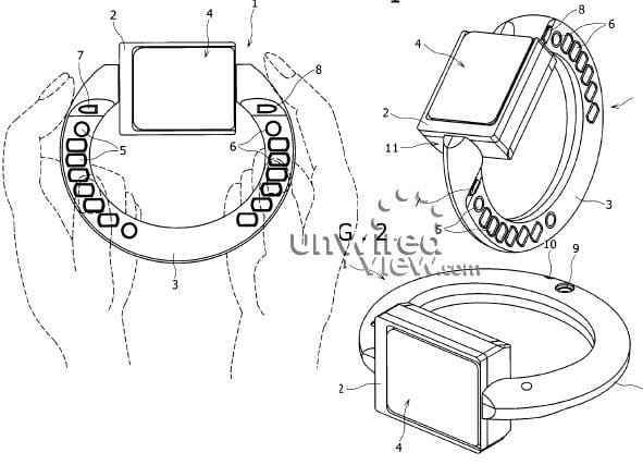 Sony Ericsson bracelet phone concept unearthed in patent