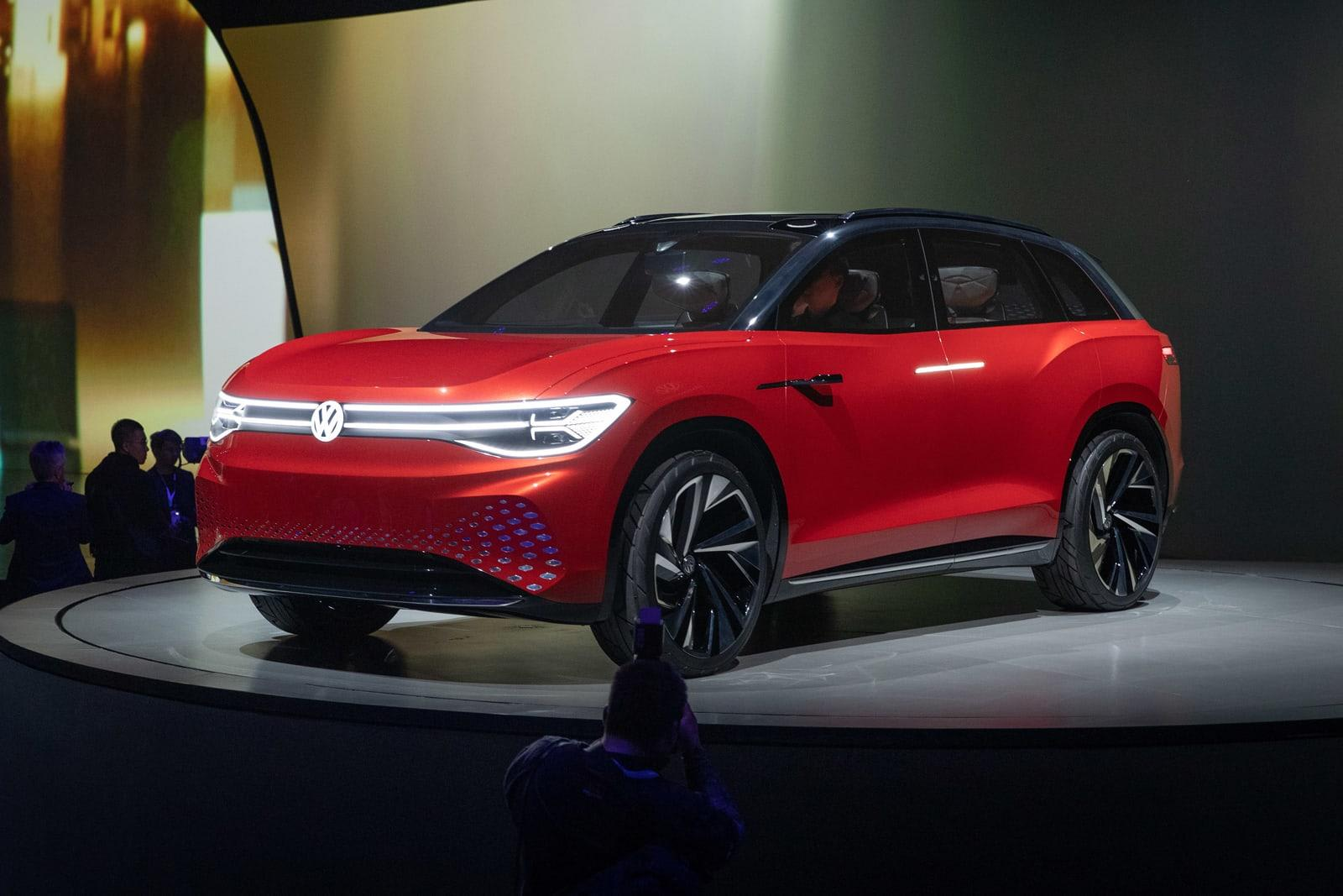 vw's id roomzz previews a fullsize electric suv due in