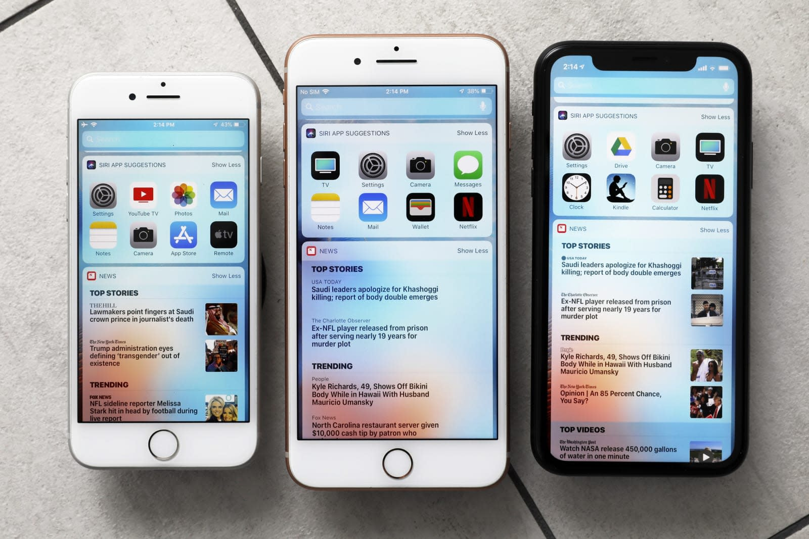 Apple may bring 'real' home screen widgets to iOS 14   Engadget