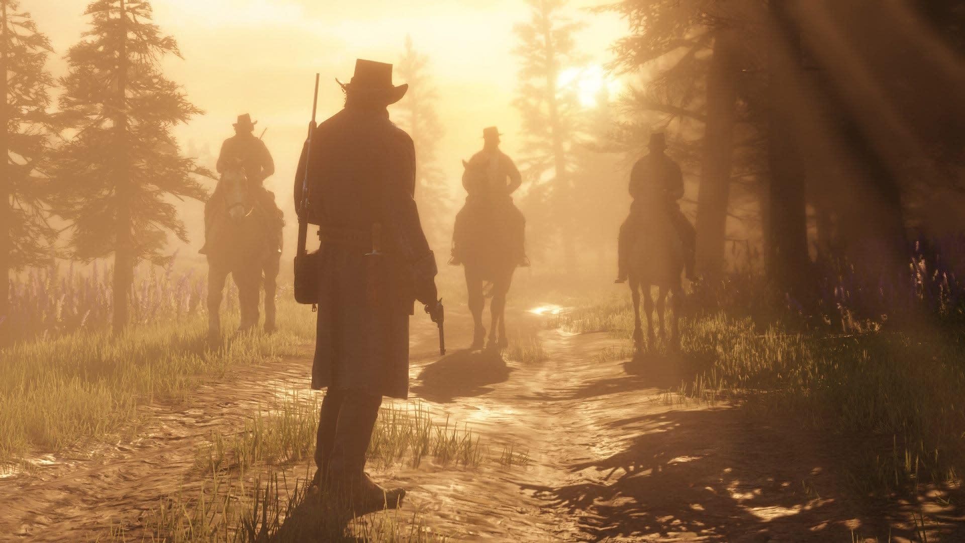 Red Dead Redemption 2 Illustration Hd Games 4k Wallpapers