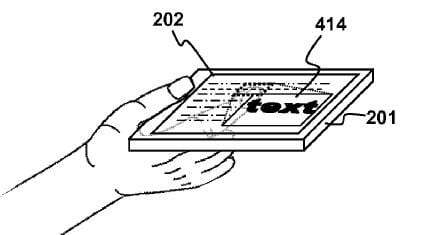 Sony fires barrage of touchscreen patent applications