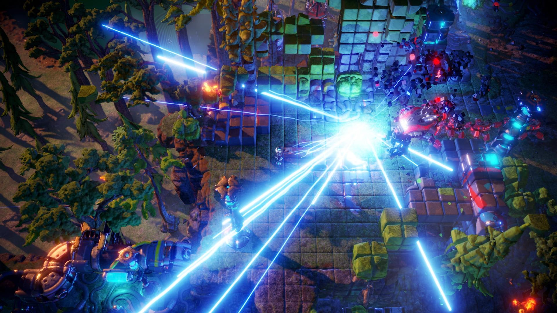The Follow Up To Resogun Is A Hail Mary For Arcade Shooters