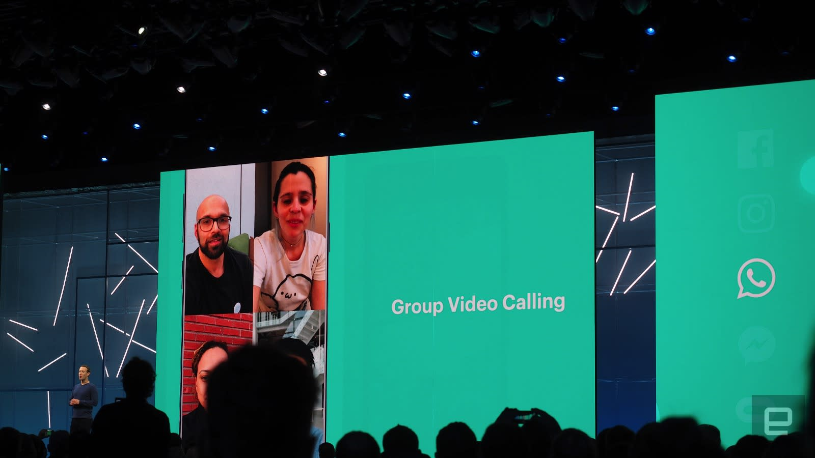 WhatsApp will finally offer group video calls | Engadget