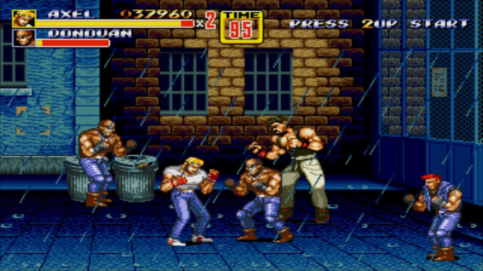 Sega Adds Streets Of Rage 2 And More To The Genesis Mini Lineup