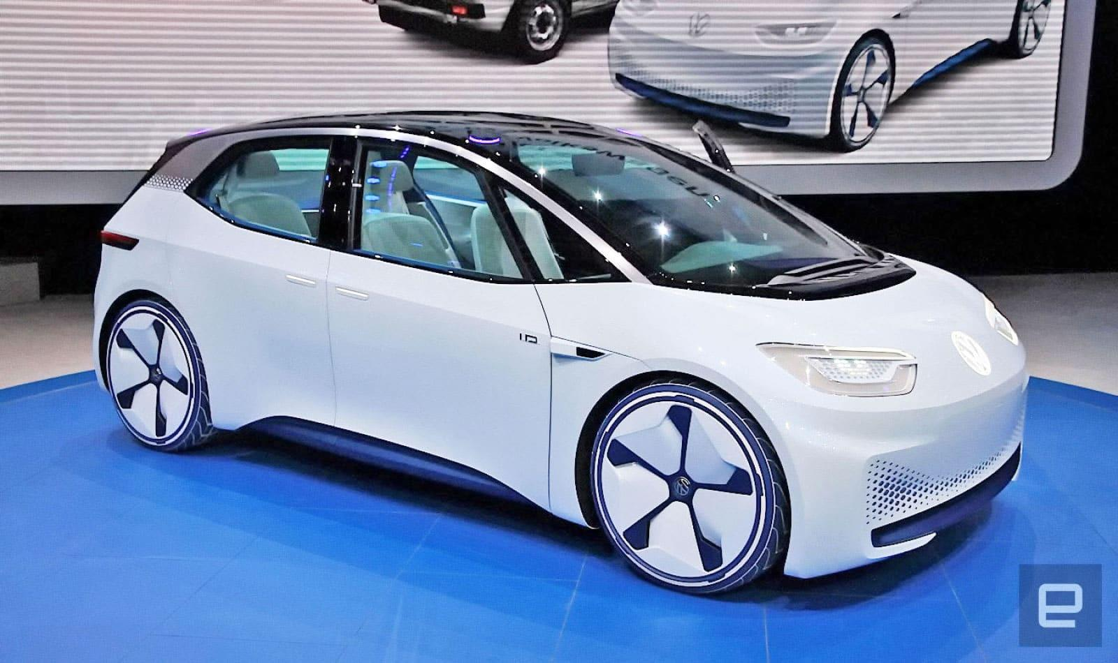 VW's I.D. EV will deliver a 300 mile range for the price of a Golf ...