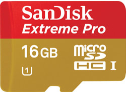 Pro microSDHC UHS-I